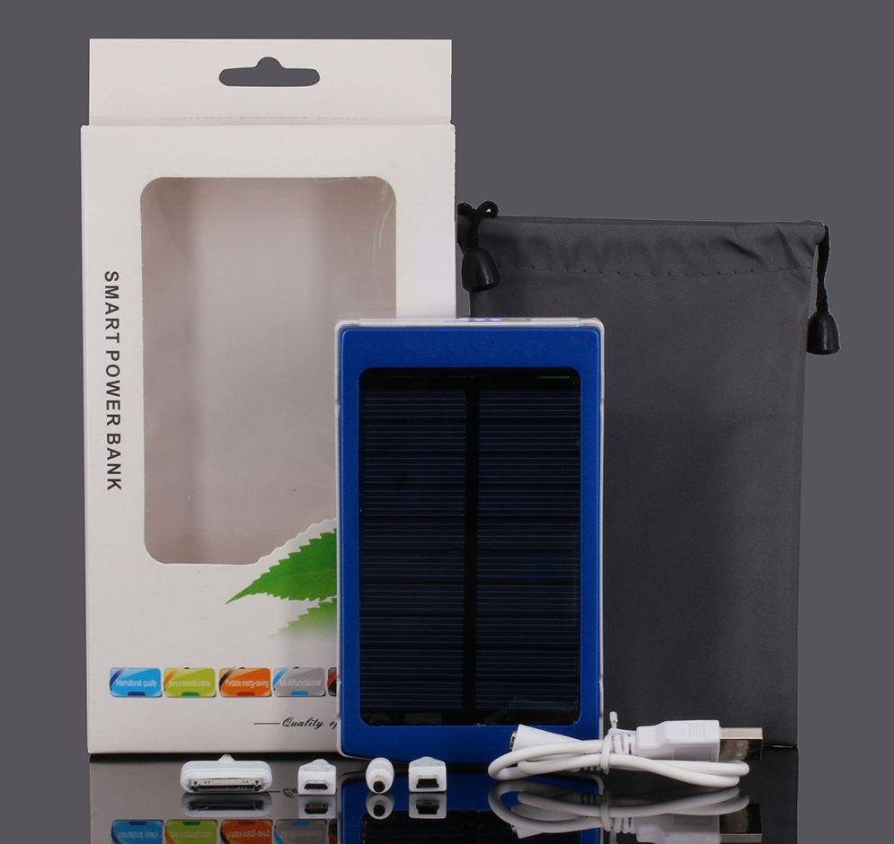 Внешний аккумулятор на солнечных батареях