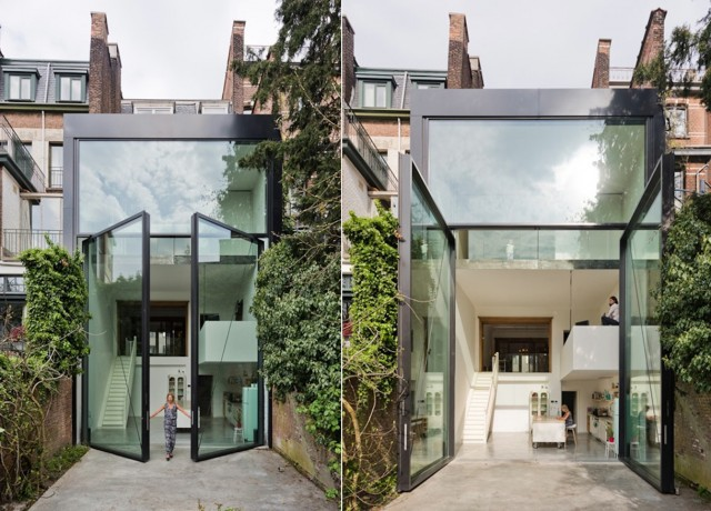 A House with the World's Largest Pivoting Doors (9 pics)