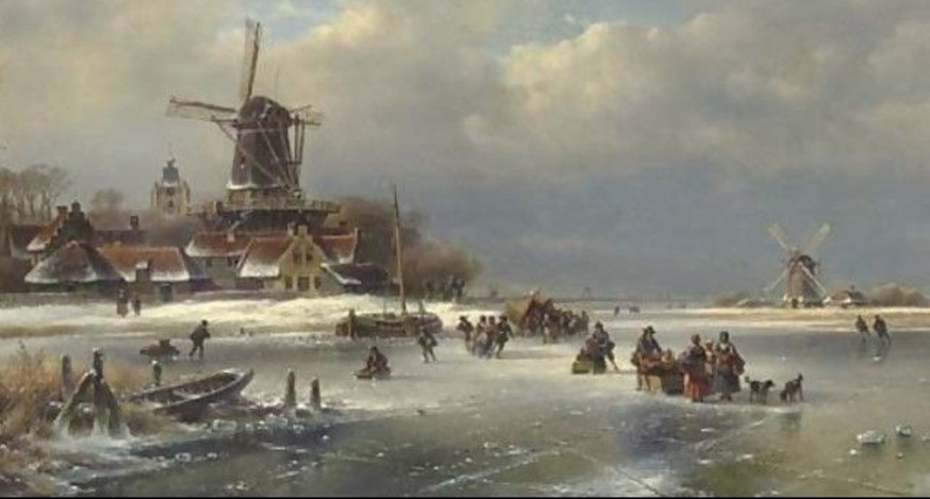 4 Kleijn_Villagers-on-a-Frozen-Waterway.jpg