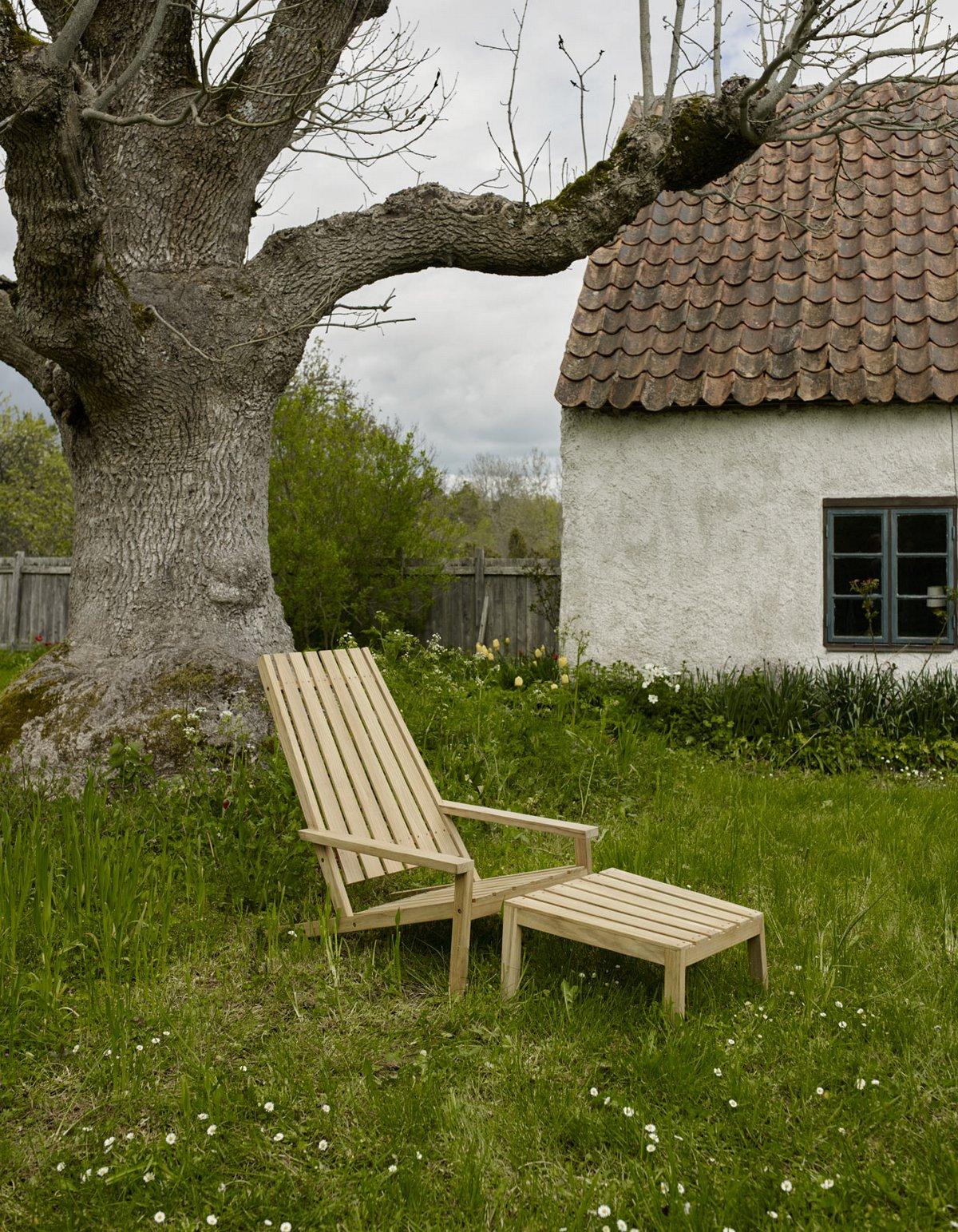Садовый стул адирондак