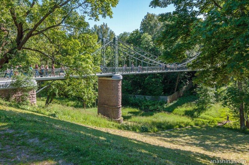 Макаровский мост через Петровский овраг, Кронштадт