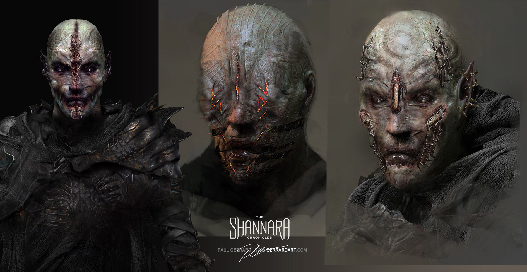 The Shannara Chronicles Concept Art by Paul Gerrard
