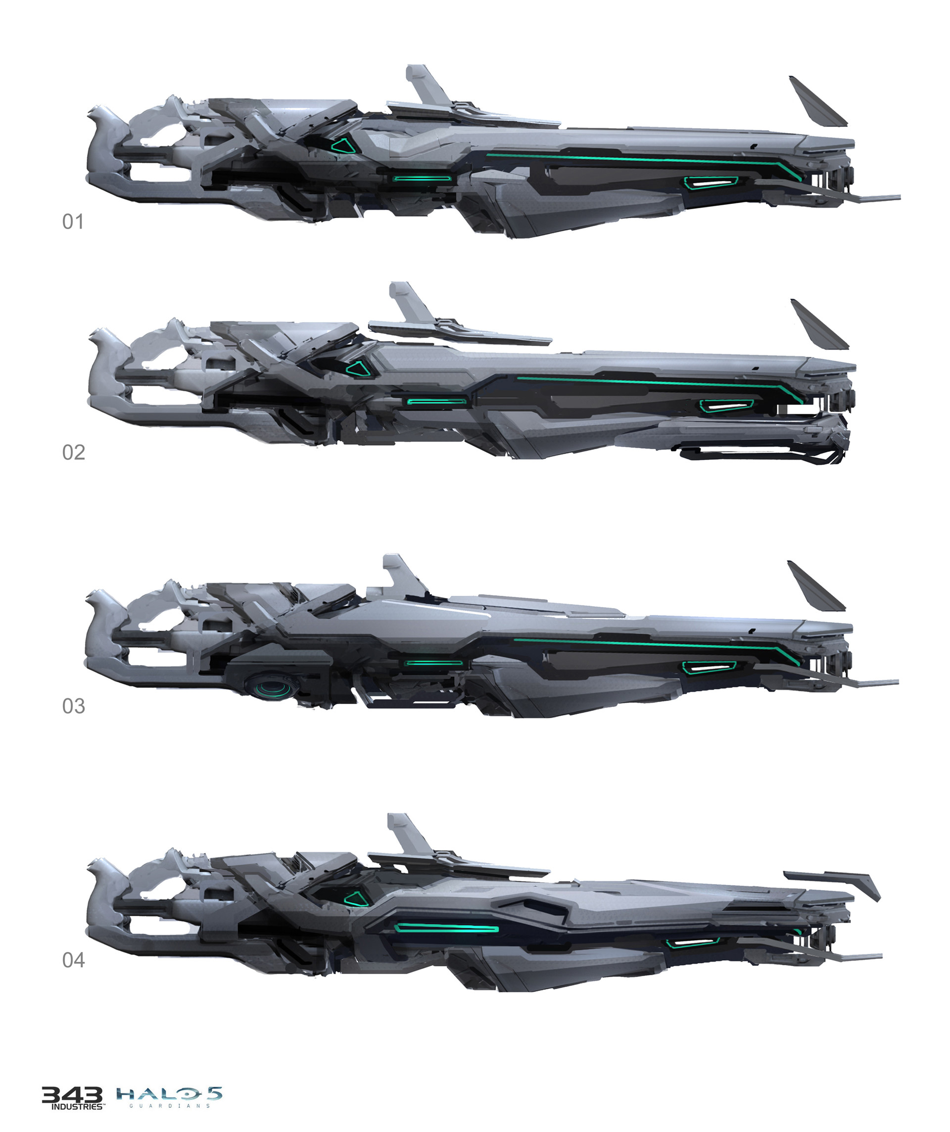 Halo 5: Guardians Concept Art by Sam Brown