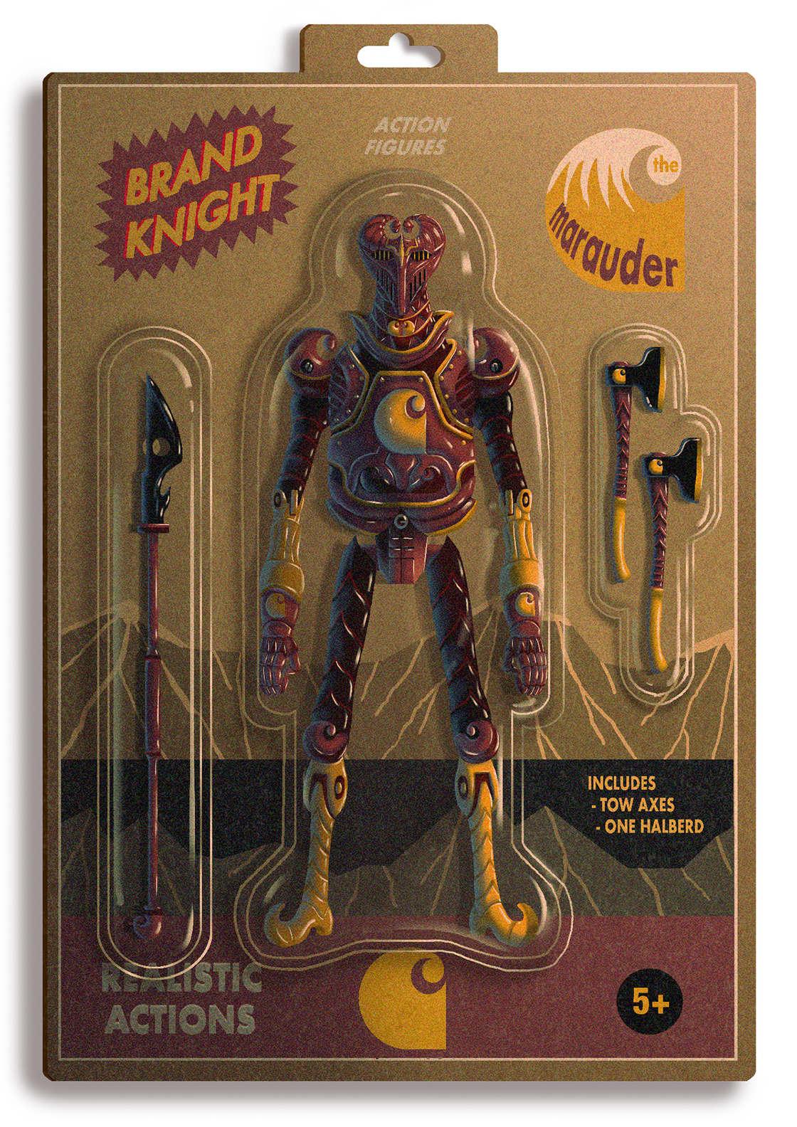 Brand Knight - Quand les marques celebres deviennent des jouets