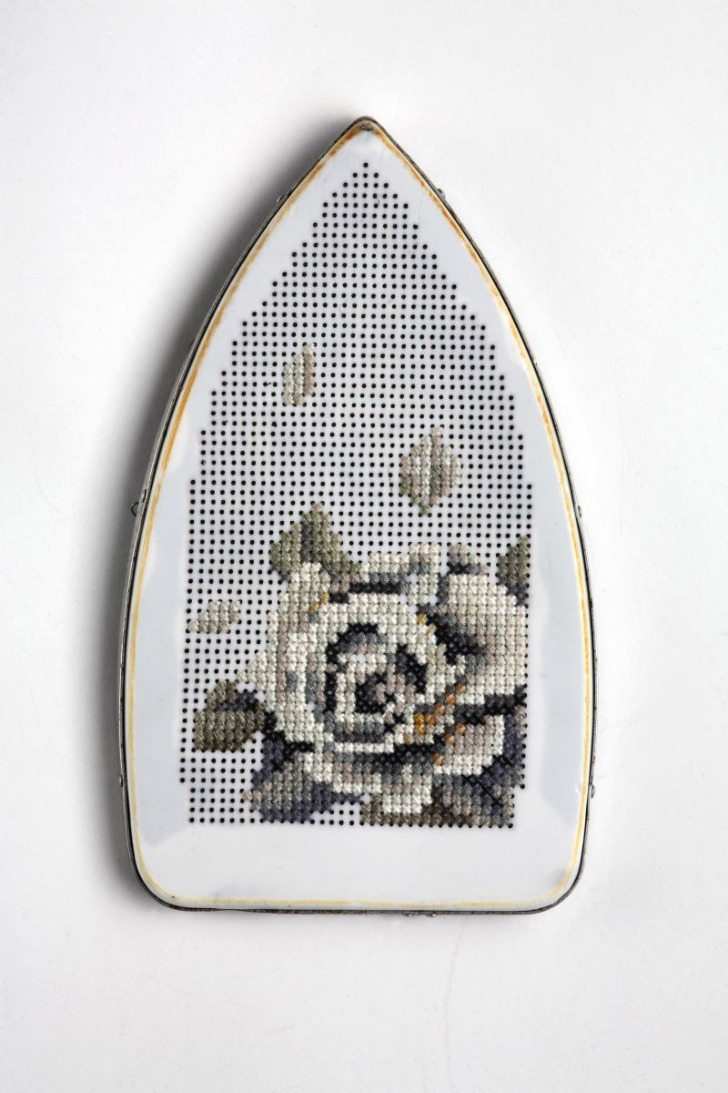 Embroidered Objects by Severija Incirauskaite-Kriauneviciene