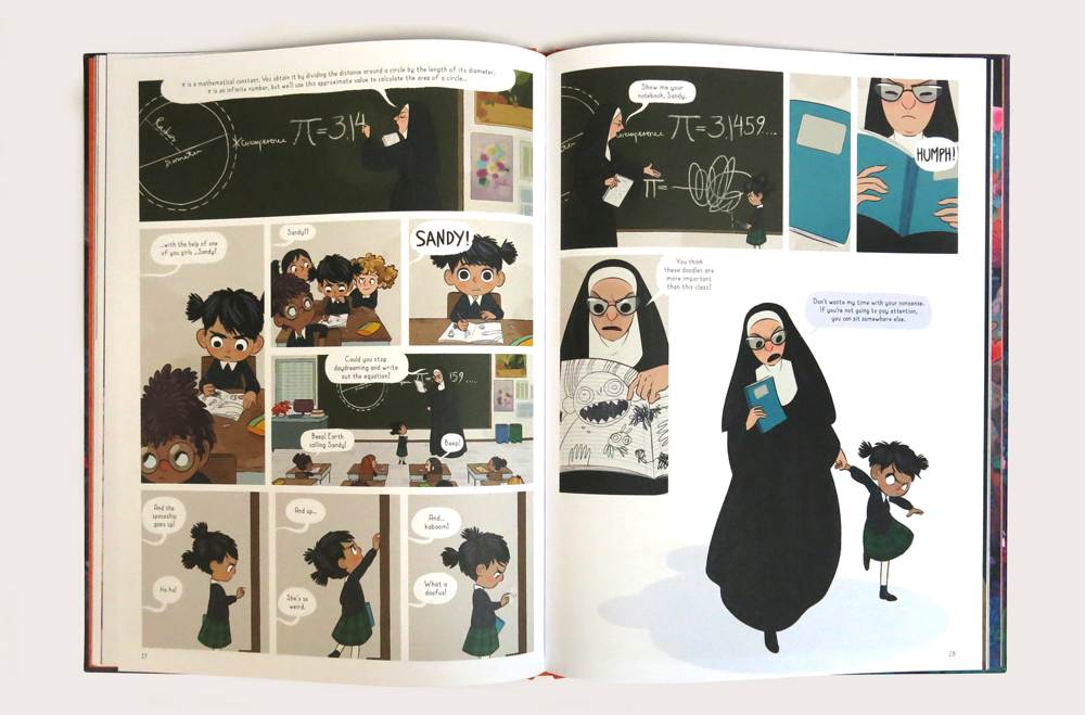 Nightlights: A Beautiful Graphic Novel by Lorena Alvarez
