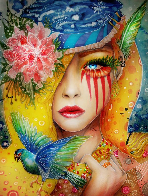 Artist - Svenja Jodicke AKA Pixiecold