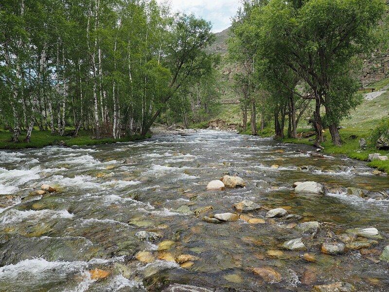 Алтай, река Большой Ильгумень (Altai river Big Ilgumen)