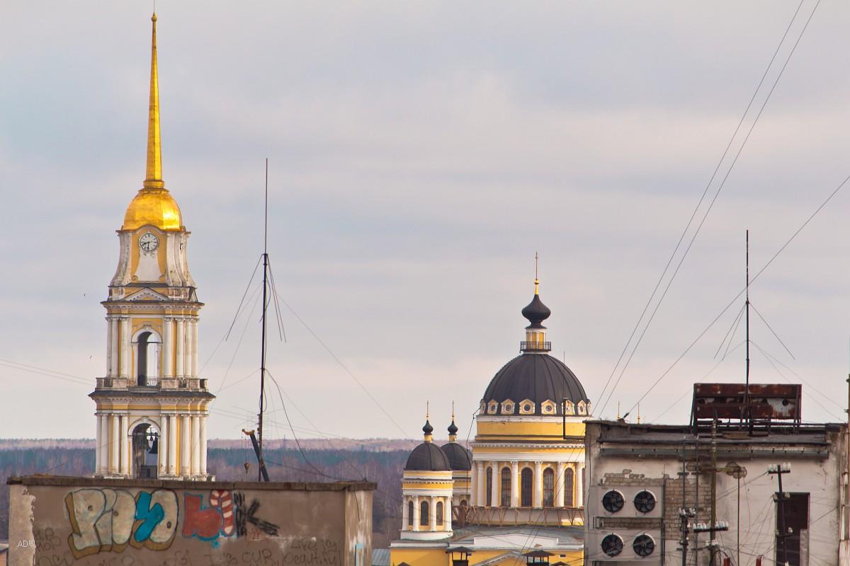 Золотое кольцо - Рыбинск