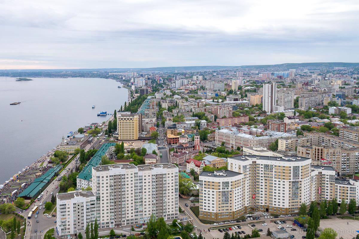 Вид на Саратов с Volga Sky фото 6