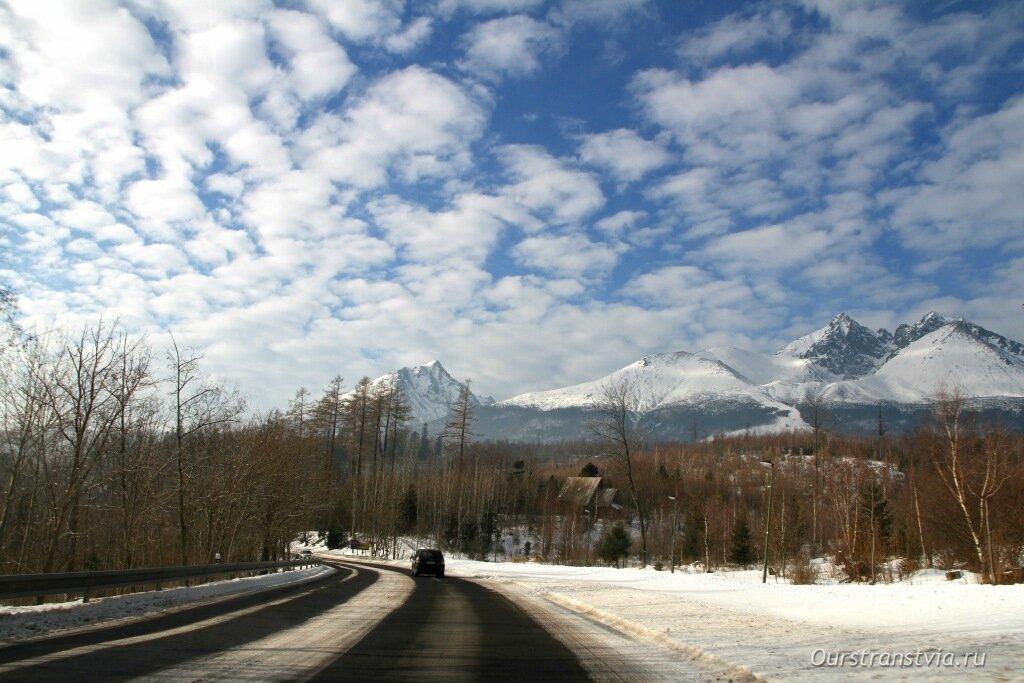 Высокие Татры, Словакия зимой