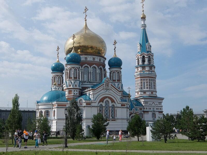 Омск - Успенский собор