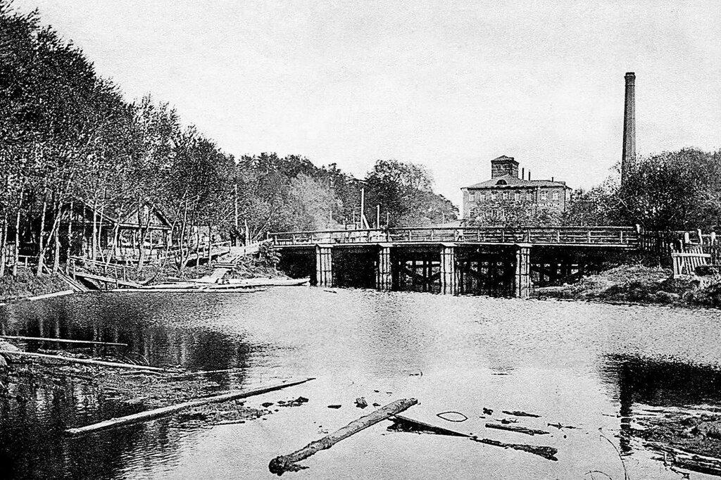 238220 Богатырский Мост на реке Яузе. Богородское.jpg до 1912 г..jpg