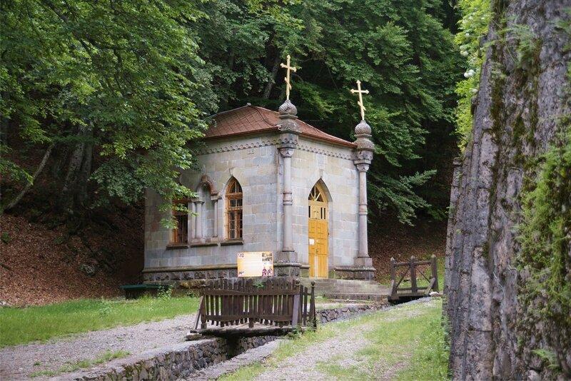 Часовня в Космо-Дамиановском монастыре