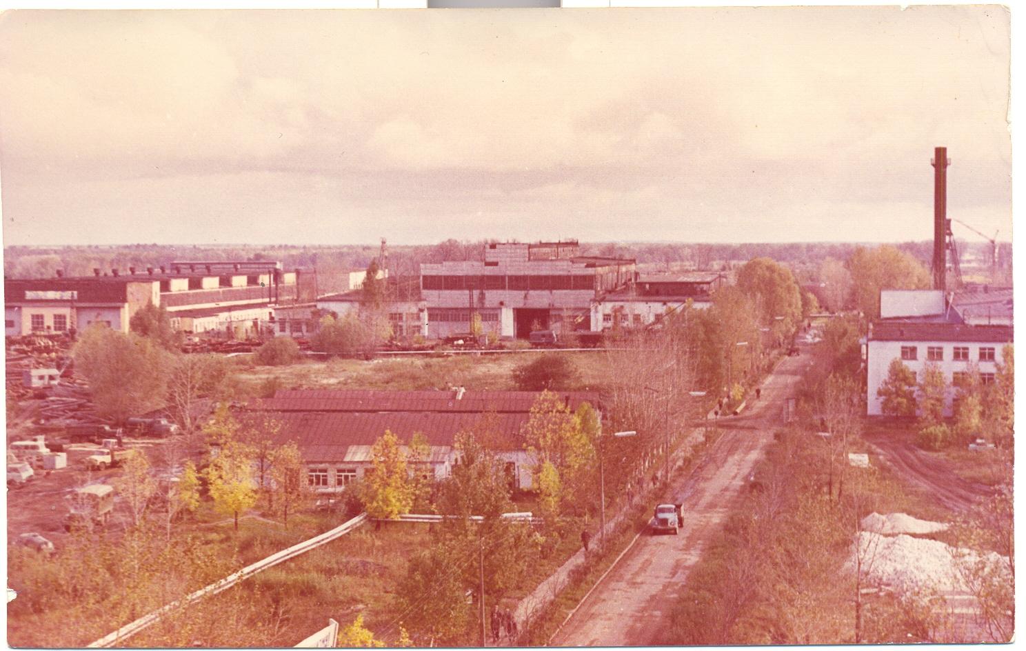 Вид на Гороховецкий судостроительный завод