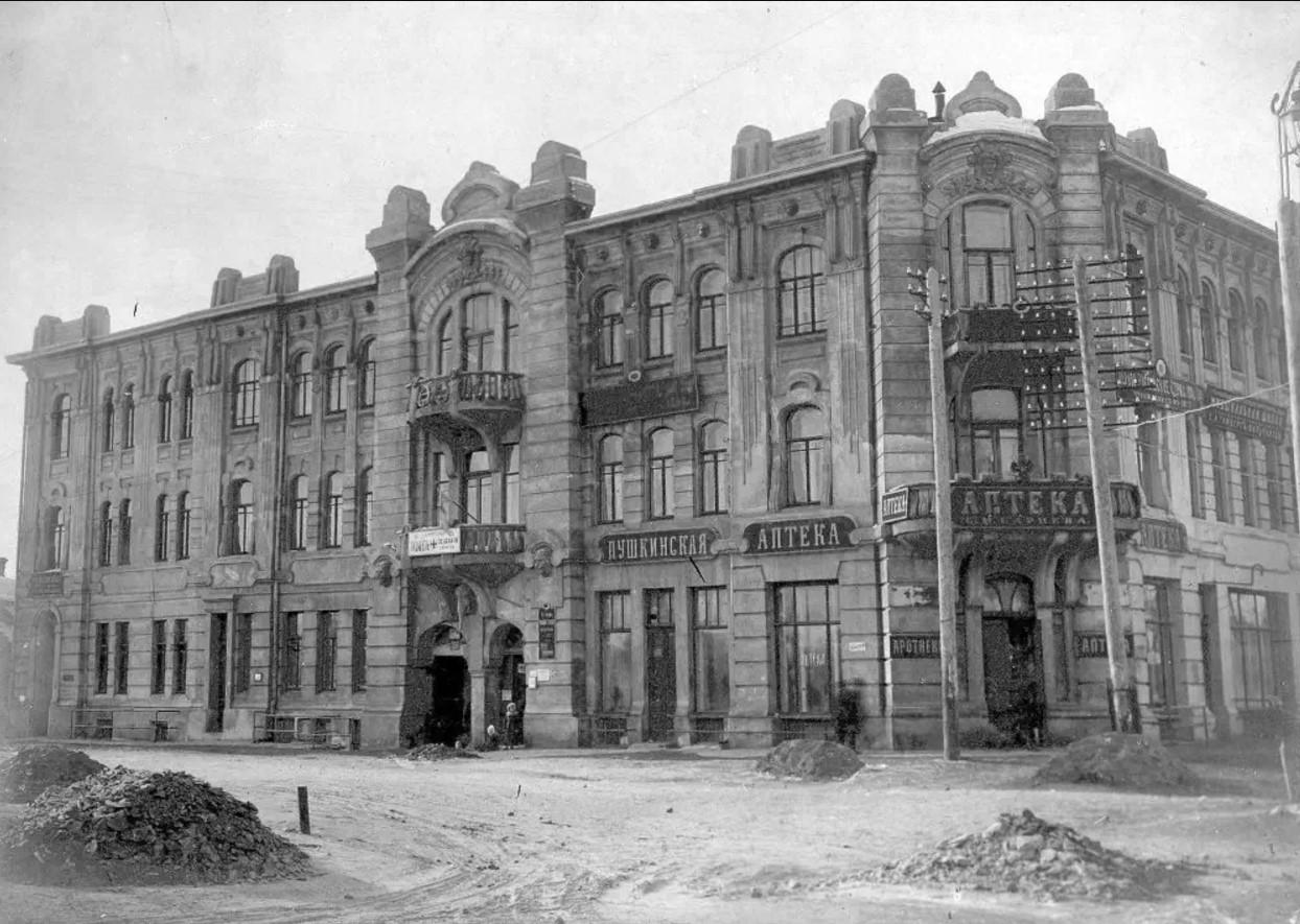 Лазарет для раненых на Шихобаловской улице