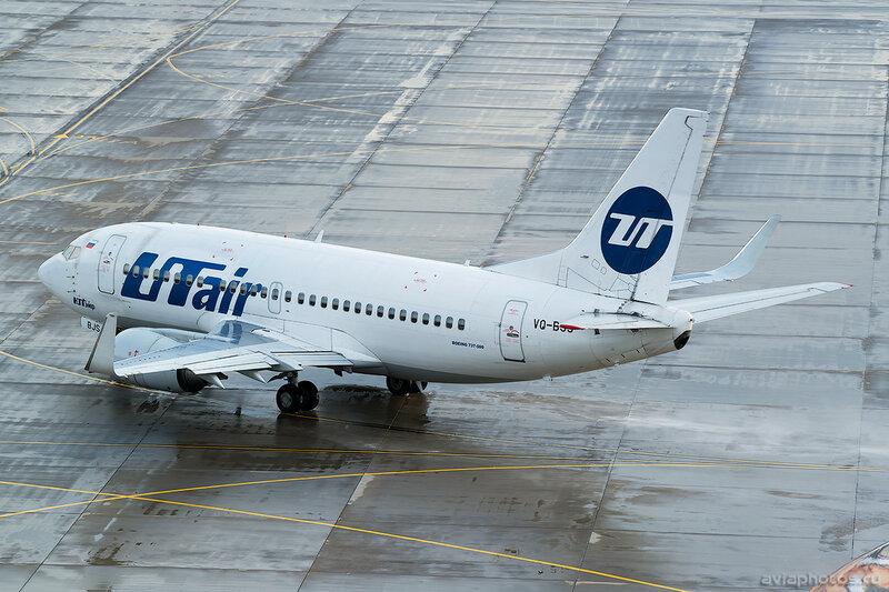 Boeing 737-524 (VQ-BJS) ЮТэйр 313_D801910