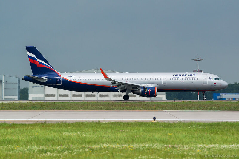 Airbus A321-211 (VP-BAY) Аэрофлот 131_D801960