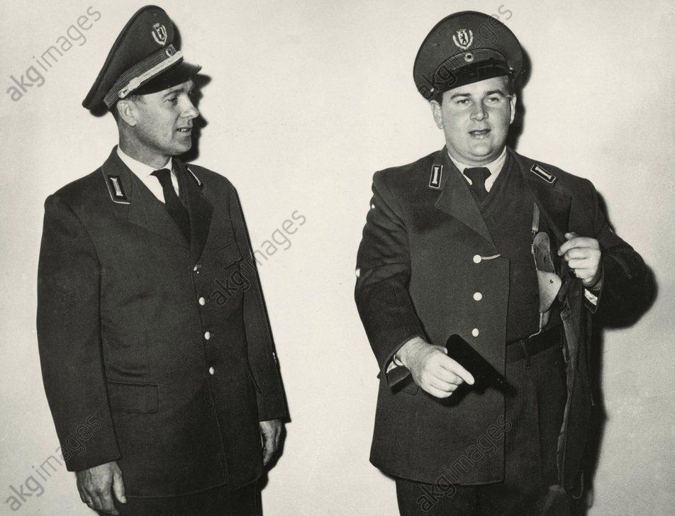 Neue Uniform f.Westberliner Polizei,1959 -  -