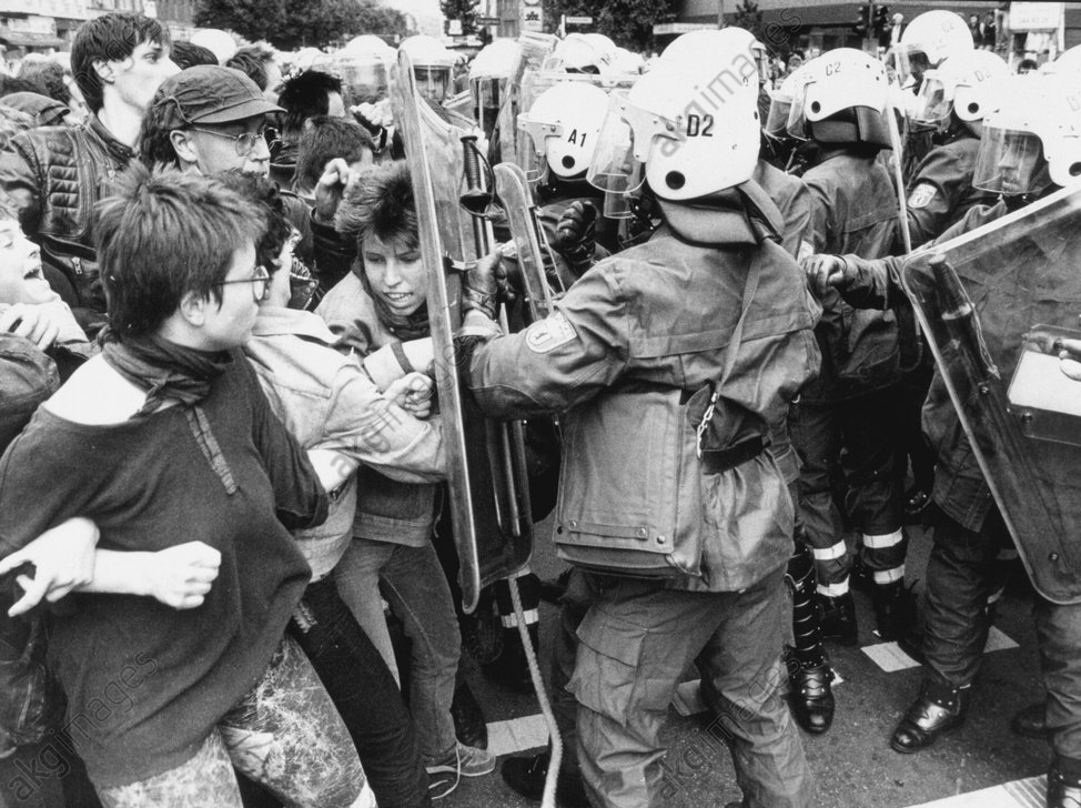 Anti-CARP Demonstration / Berlin/1987 - -