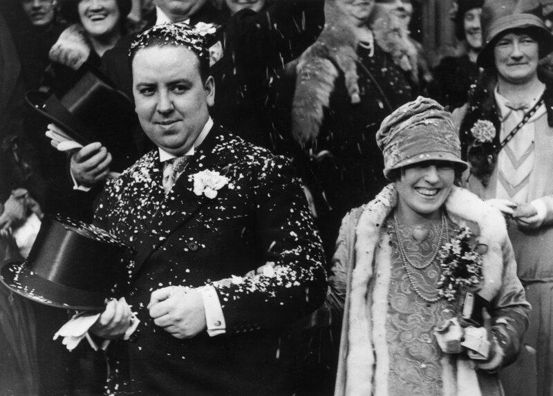 Фото 6 - супруги Хичкок в день свадьбы.jpg