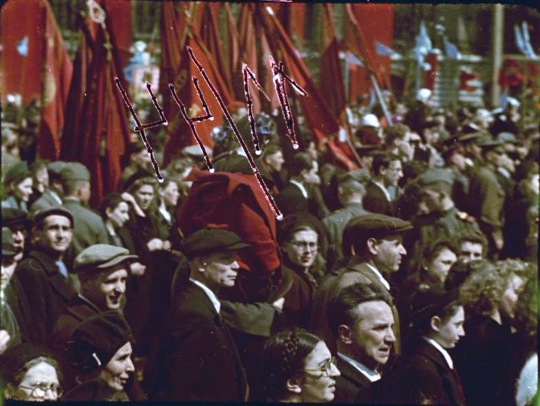 Первомайская демонстрация 1947 г. в Москве. Владислав Микоша.jpg