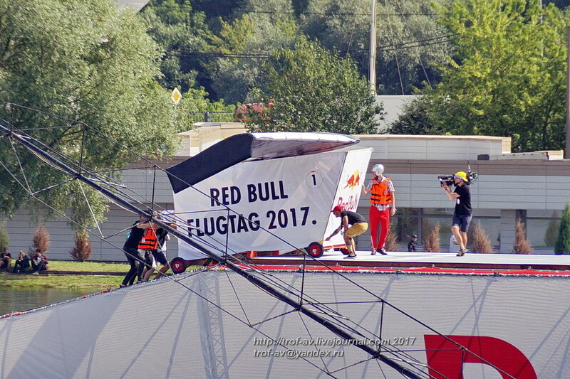 Red Bull Flugtag 2017, Москва