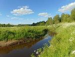 У реки Витка.