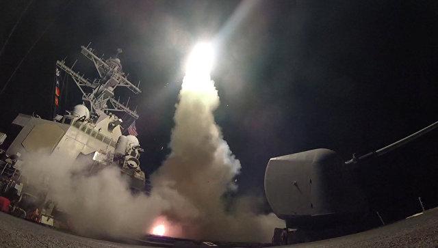 Путин назвал агрессией ракетный удар США по авиабазе в Сирии