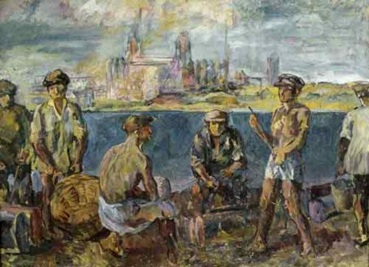 Строители комбината, 1931 год
