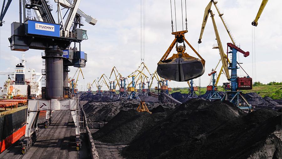 В Украинское государство отправили первую партию— Уголь изсоедененных штатов