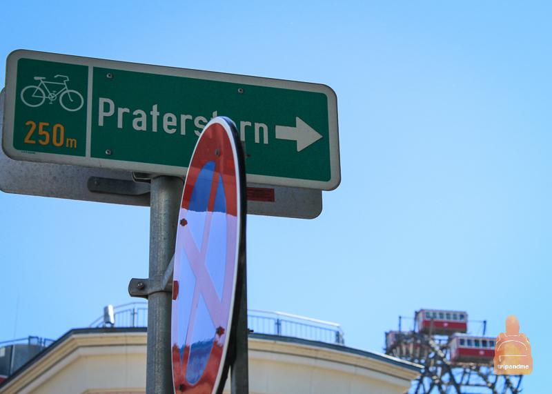 Как добраться до парка Пратер в Вене