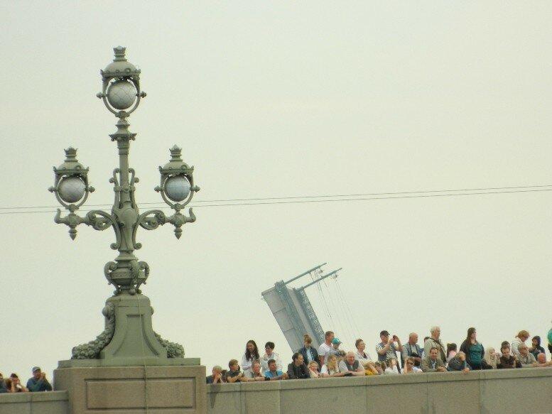 Репетиция парада ВМФ в Санкт-Петербурге, 28 июля 2017