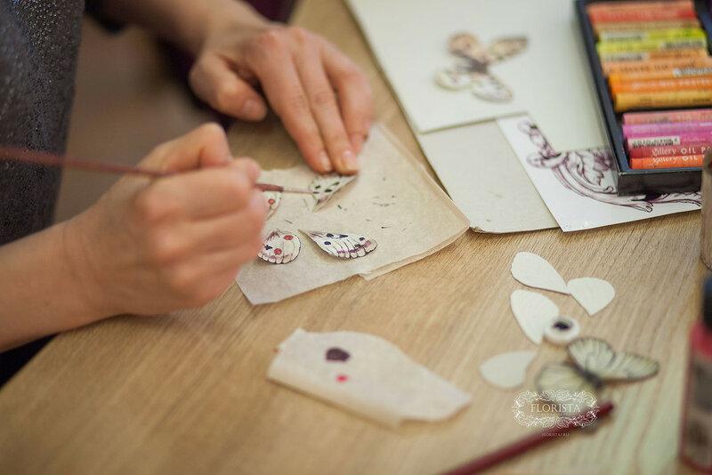 Бабочки ручной работы