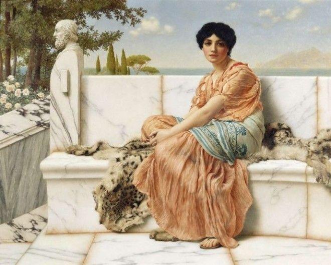 Таис, афинская гетера, сначала отказала в близости самому Александру Македонскому. Она потребовала,
