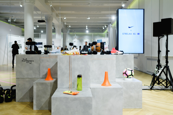 О спортивном центре Nike в Парке Горького На территории спортивного центра будут работать футбольная