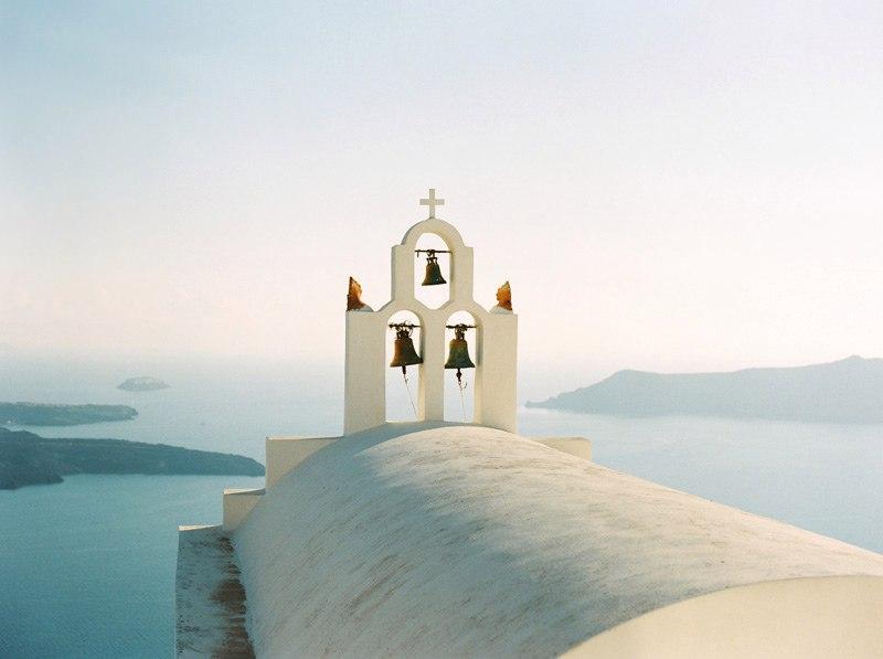 Фотограф Анна Дошина и ее путешествие в Санторини, Греция