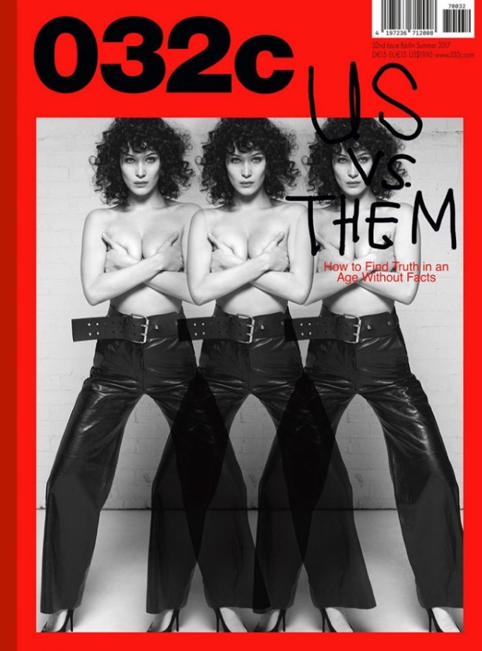 Белла Хадид на обложке 032c Magazine
