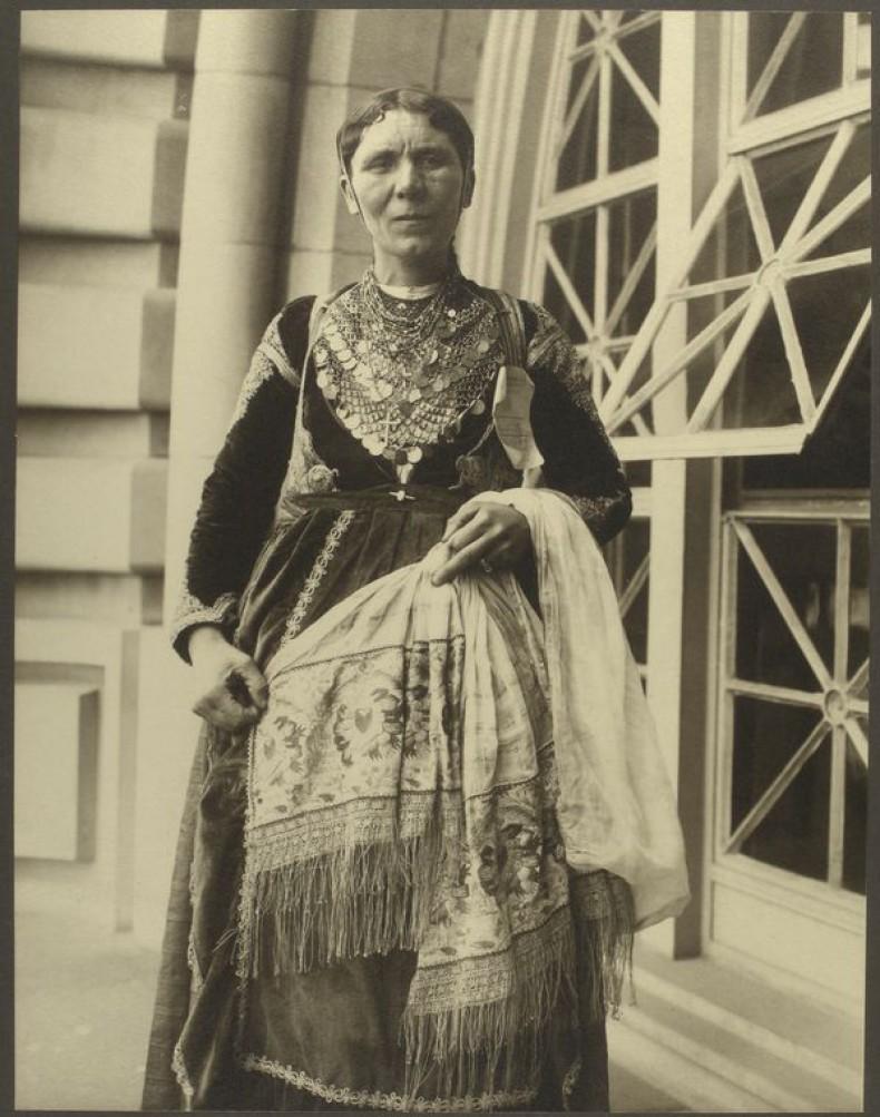 Закарпатская русинка, 1906