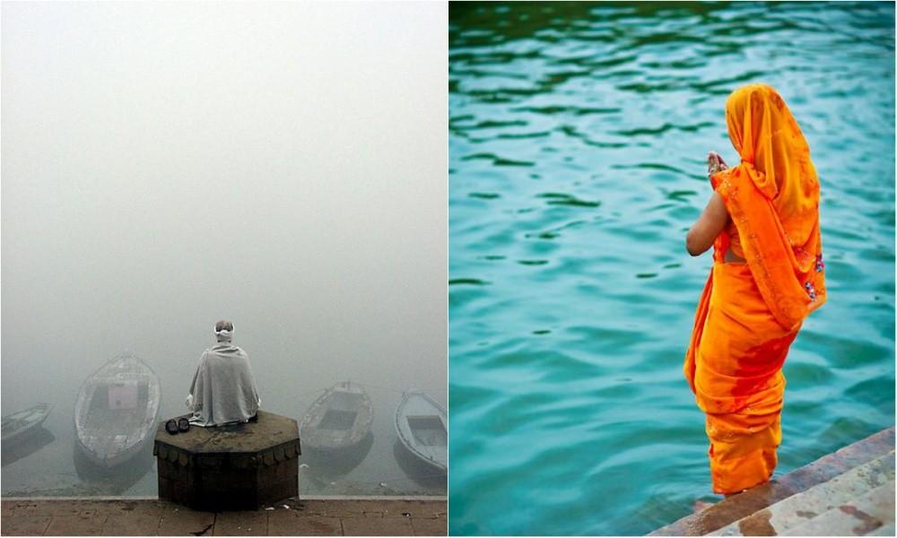 8. Молитва у вод реки Ганг.