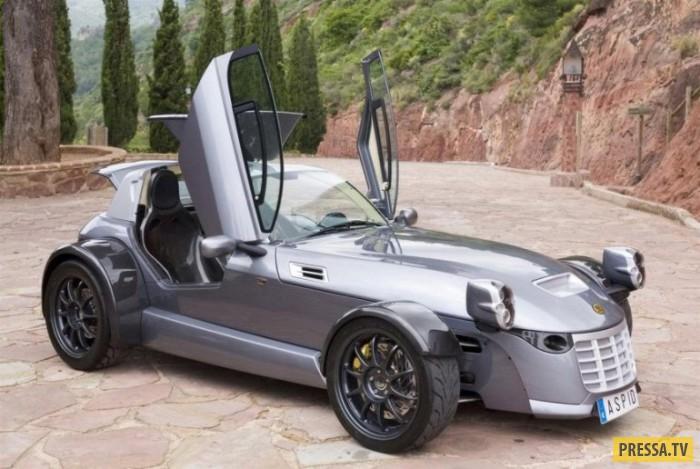 Спортивные автомобили необычного, странного и неудачного дизайна