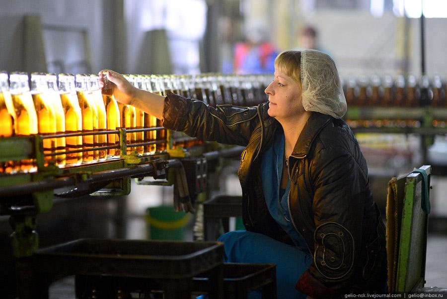 Барнаульский пивоваренный завод выпускает 25 марок пива: серия «Ворсин», «Барнаульское», «Жигул