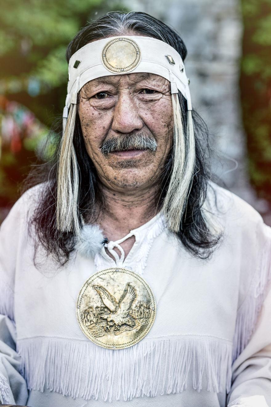 Якутский шаман.