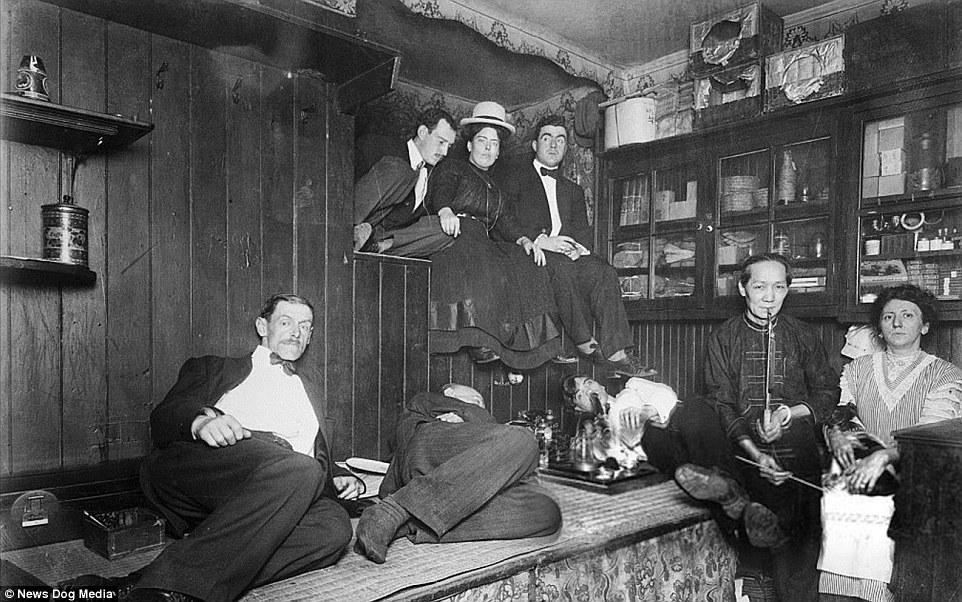 Сладкий дурман: фотографии опиумных притонов в США XX века (13 фото)