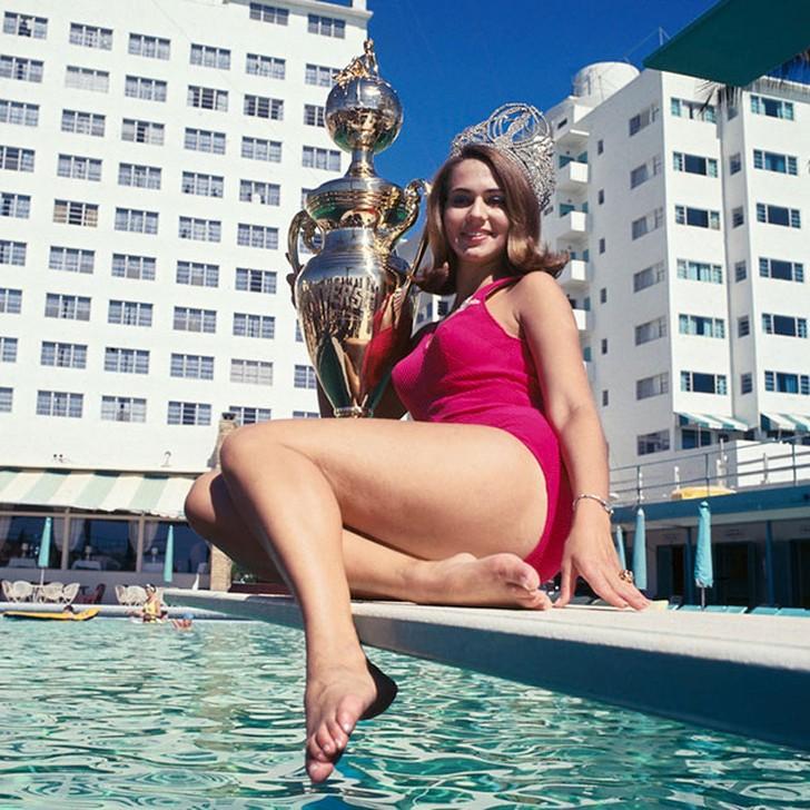 Сильвия Хичкок, США. «Мисс Вселенная — 1967». 21 год, рост 170 см.