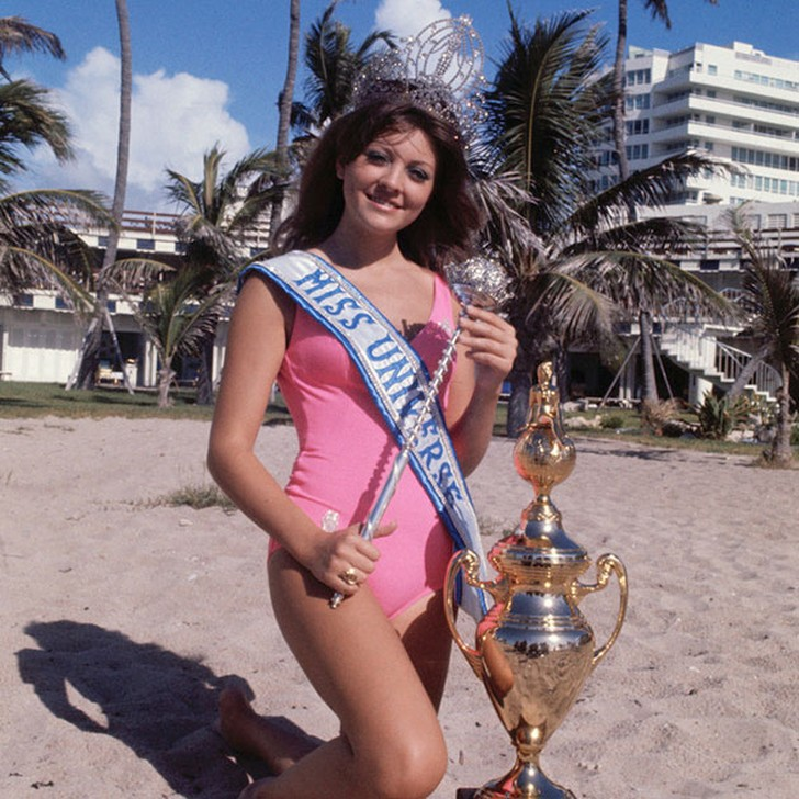 Георгина Риск, Ливан. «Мисс Вселенная — 1971». 18 лет, рост 173 см, параметры фигуры 89?61?89.