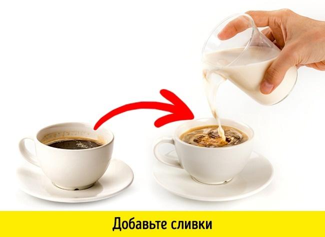 © depositphotos  Кофе даже без кофеина стимулирует выработку кислоты, действие которой напуст