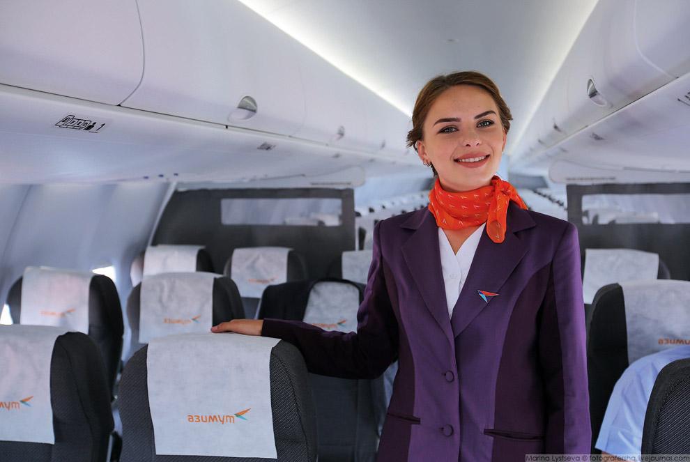 7. Самолеты поставляются в компоновке на 100 и 103 места. Особенностью салона на 100 мест являе