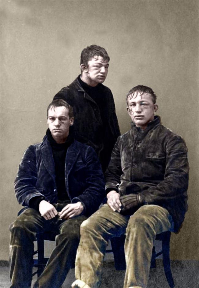© imgur.com  Вот так выглядели эти студенты изПринстона после, казалосьбы, невинной игры вс