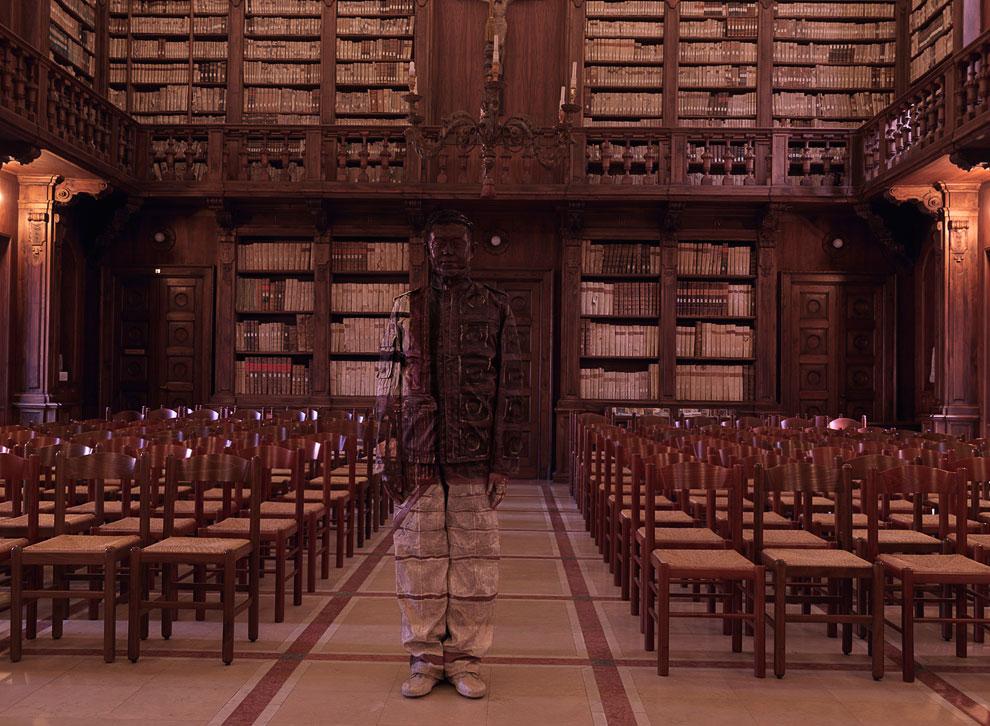 Библиотека в Вероне, Италия, 2012 год: